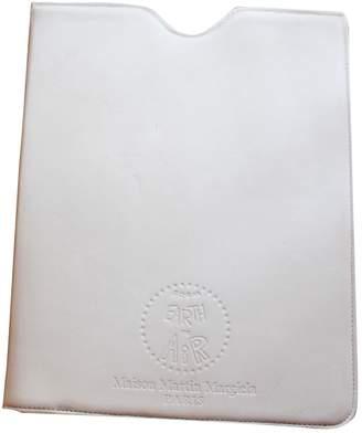 Maison Margiela White Leather Purses, wallets & cases