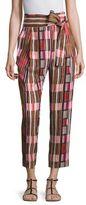 Apiece Apart Isa Printed Wrap Pants