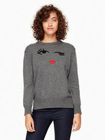 Kate Spade Winking eye sweater