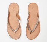 Frye Leather Thong Sandals - Azalea