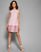 Ted Baker Satin Loop Shift Dress