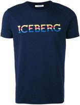 Iceberg lettering logo T-shirt - men - Cotton/Spandex/Elastane - M