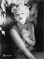 Monroe 1art1 Posters: Baron Poster Art Print - Marilyn Monroe, 1954 (32 x 24 inches)