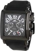 Adee Kaye Men's AK7231-MIPB Ak7231-Mipb (Blk) Comfort Zone Collection Watch
