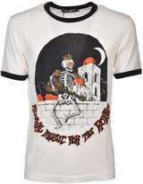 Dolce & Gabbana Royal Skeleton Print T-shirt