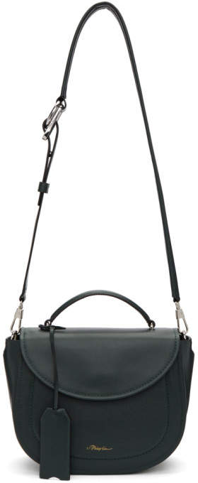 3.1 Phillip Lim Green Hudson Saddle Bag