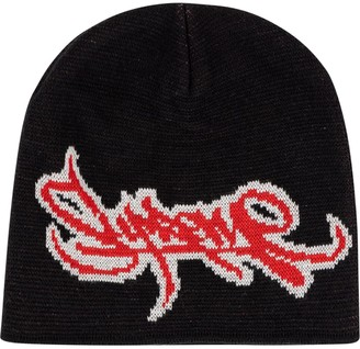 Supreme Tag Logo Knitted Beanie