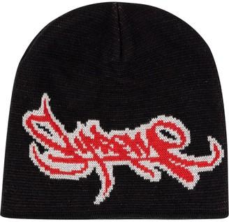 Supreme Tag Logo Knitted Beanie