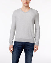 Michael Kors Men's V-Neck Supima Cotton Sweater, Only at Macy's