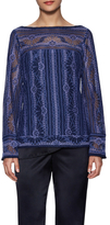 Nanette Lepore Misty Morning Lace Top