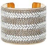 Charlotte Russe Embellished Chevron Cuff Bracelet