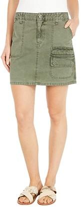 Hudson Hunter Mini Skirt in Military Olive (Military Olive) Women's Skirt