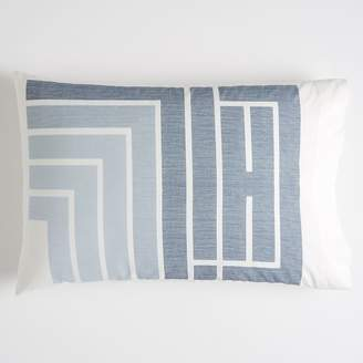 Pottery Barn Teen Chill Novelty Pillowcase, Standard, Blue Multi