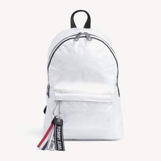Tommy Hilfiger Logo Tape Coated Backpack