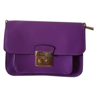 Michael Kors Sloan Purple Leather Handbags