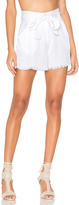 KENDALL + KYLIE Frayed Twill Short