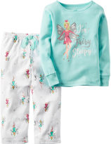 Carter's 2-pc. I Fairy Sleepy Fleece Pajama Set - Baby Girls newborn-24m