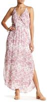 Lush Printed Maxi Dress