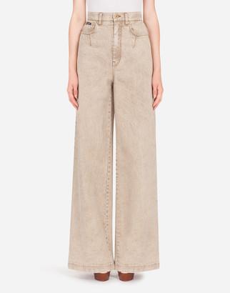 Dolce & Gabbana Flared Denim Jeans
