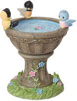 Precious Moments Birdbath Rotating Musical Figurine