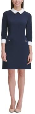 Tommy Hilfiger Collared Shift Dress, Regular & Petite Sizes