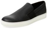 Lanvin Leather Slip-On Sneaker