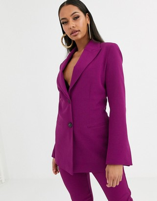 Asos Design DESIGN pop suit blazer in purple