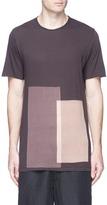 Ziggy Chen Bleached panel T-shirt