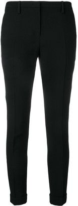 No.21 Cropped Skinny Fit Trousers