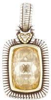 Judith Ripka Crystal & Diamond Pendant