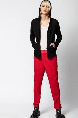 Zadig & Voltaire Sixtine Hooded Cashmere Sweater
