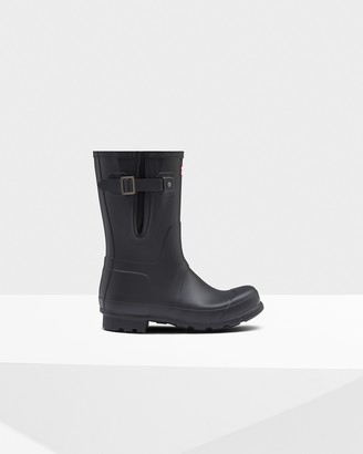 Hunter Men's Original Short Side Adjustable Rain Boots