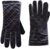 Cejon Gray Quilted Velvet Glove