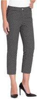 Hilary Radley Womens Stretch Slim Leg Crop Pant