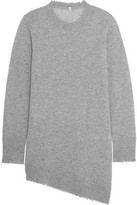R 13 Asymmetric Cashmere Sweater
