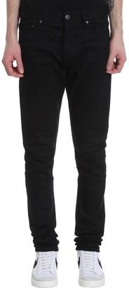 John Elliott The Cast 2 Jeans In Black Denim