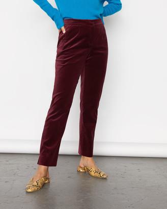 Jigsaw Velvet Trouser