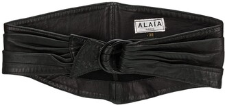 Alaïa Pre Owned Soft Corset Belt