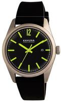 Kahuna Gents Black Strap Watch Kus-0124g