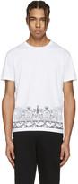 Versus White Print T-shirt
