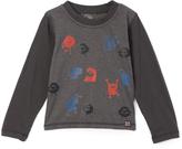 Nano Steel & Red Monsters Crewneck Tee - Infant, Toddler & Boys