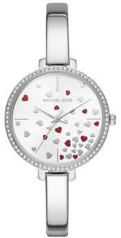 Michael Kors Jaryn Three-Hand Stainless Steel Watch
