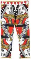 Dolce & Gabbana Queen Of Hearts Cotton Leggings