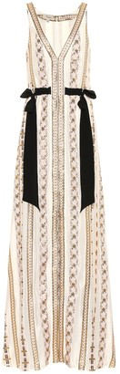 Temperley London Spirit embroidered maxi dress