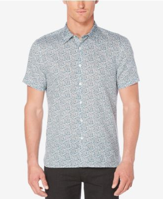 Perry Ellis Men's Multiple Paisley Shirt
