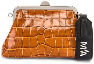 Marques Almeida Marques ' Almeida Mini Clasp Bag in Brown | FWRD
