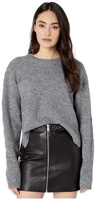 AllSaints Tabby Jumper (Grey Marl) Women's Clothing