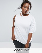 Asos Deconstructed T-Shirt with One Sleeve