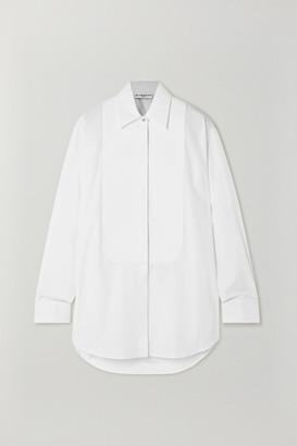 Givenchy Crystal-embellished Cotton-poplin Shirt - White