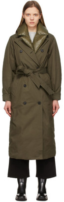 Mackage Khaki Down Sage Trench Coat